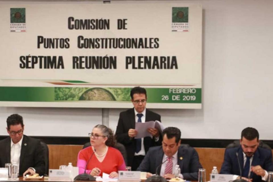 Comisión en Cámara de Diputados aprueba la Guardia Nacional