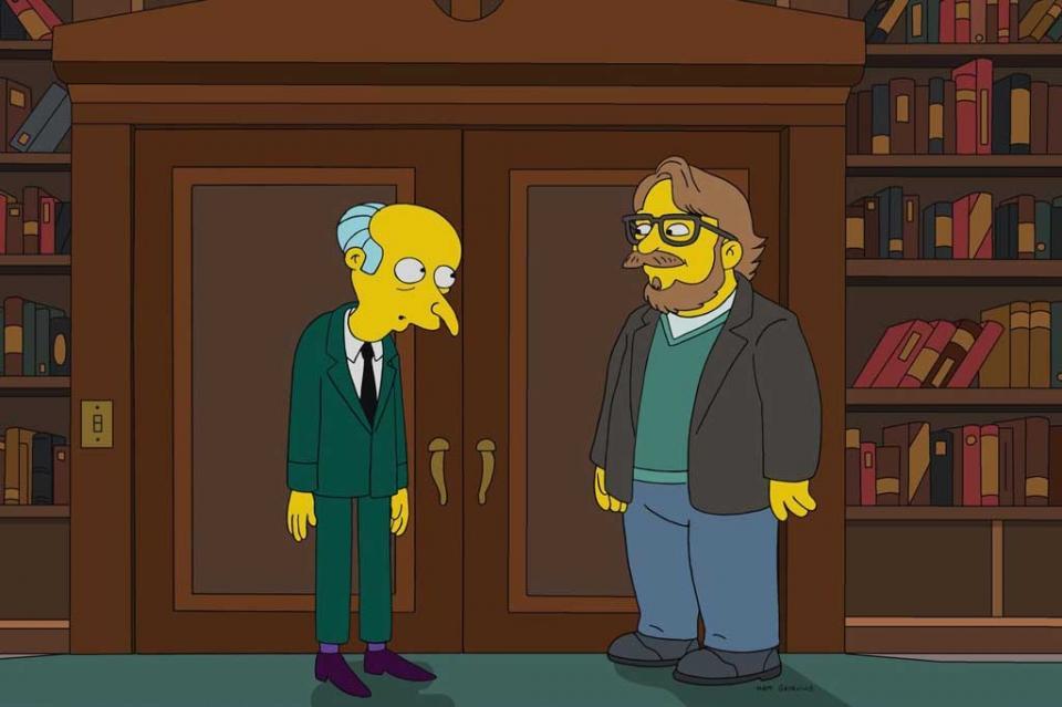 """Guillermo del Toro aparecerá en capítulo especial de """"Los Simpson"""""""
