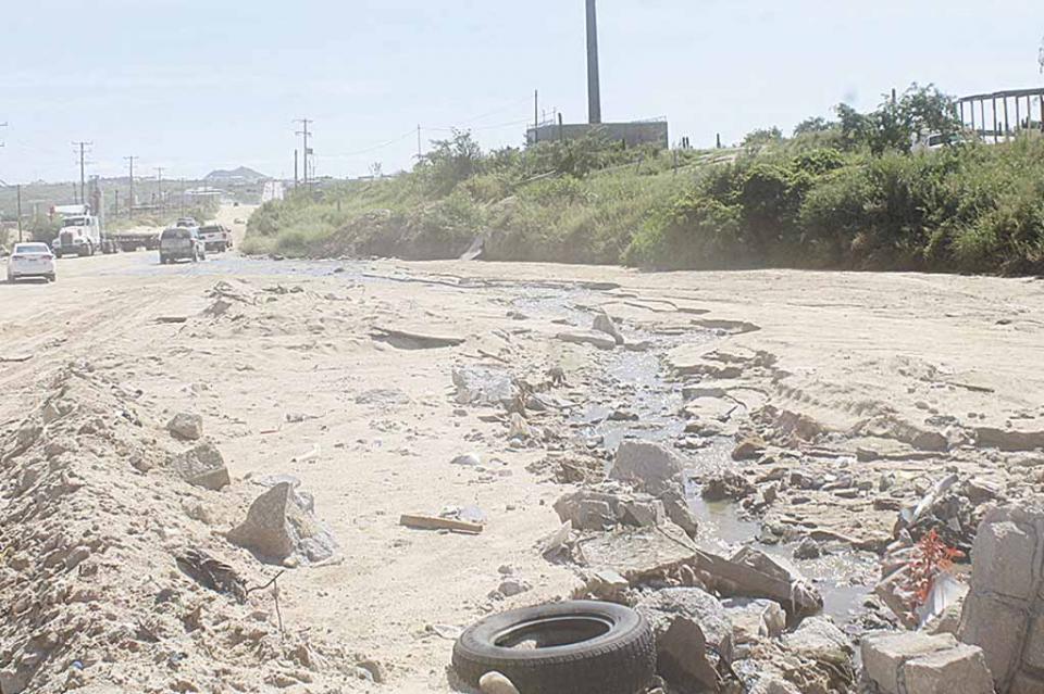 Un grave problema en el destino el derrame constante de aguas negras: Paloma Palacios