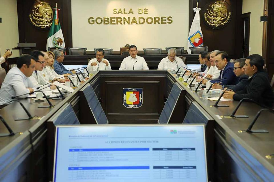Instalan gabinete estatal de infraestructura