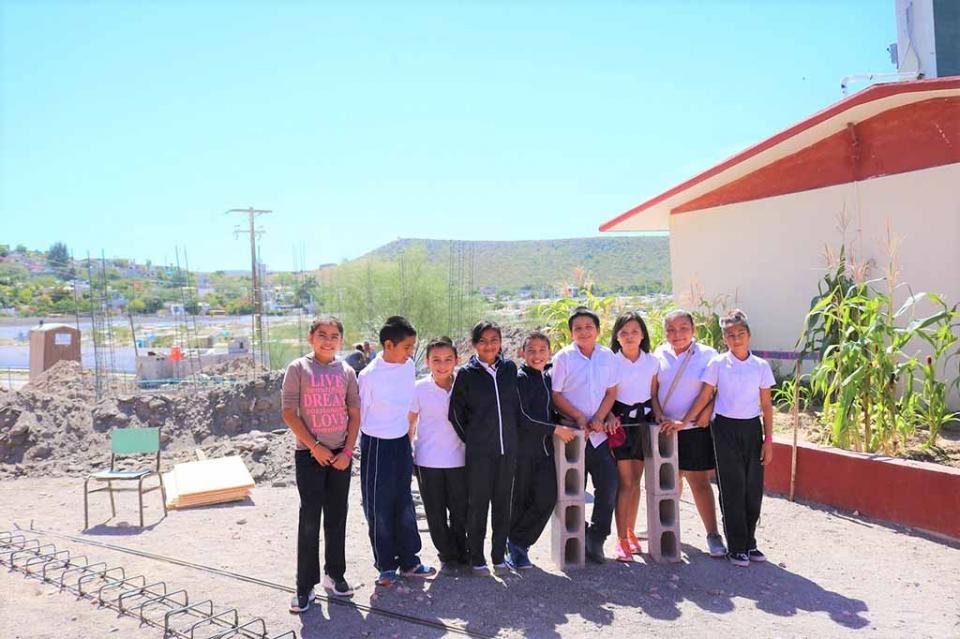 Arranca programa escuelas de tiempo completo construcción de comedor en primaria de La Paz
