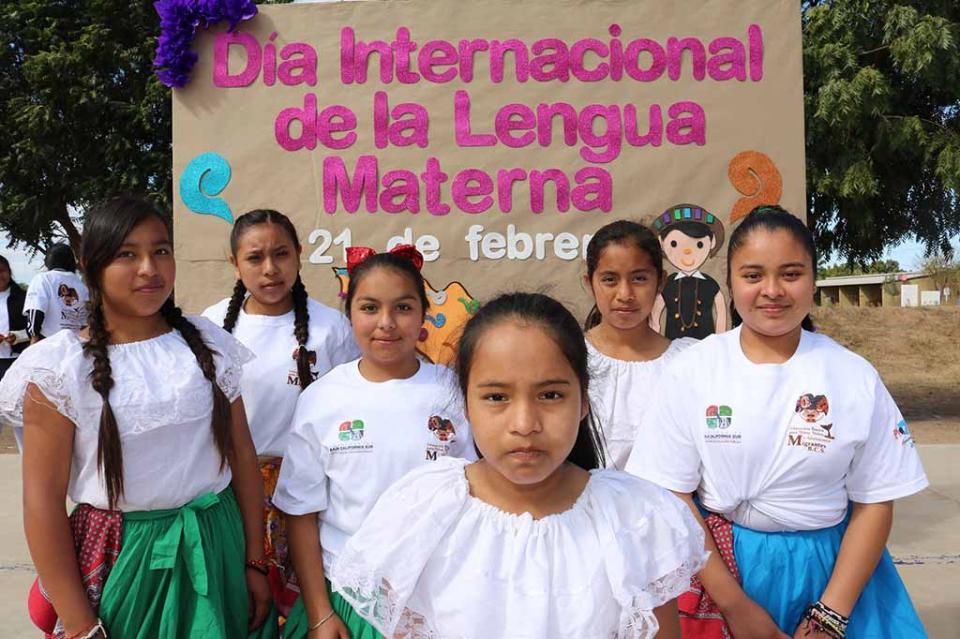 Ofrece Baja California Sur servicio educativo a mil 800 alumnos indígenas migrantes