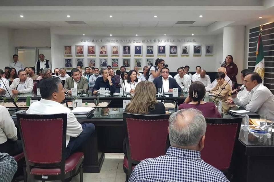 Se presentó diagnóstico de la problemática de agua en La Paz