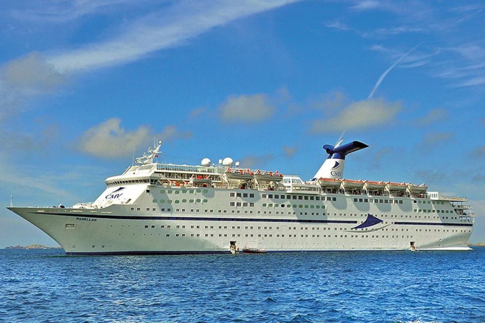 """Arribará por primera vez a La Paz """"Crucero Magellan"""""""