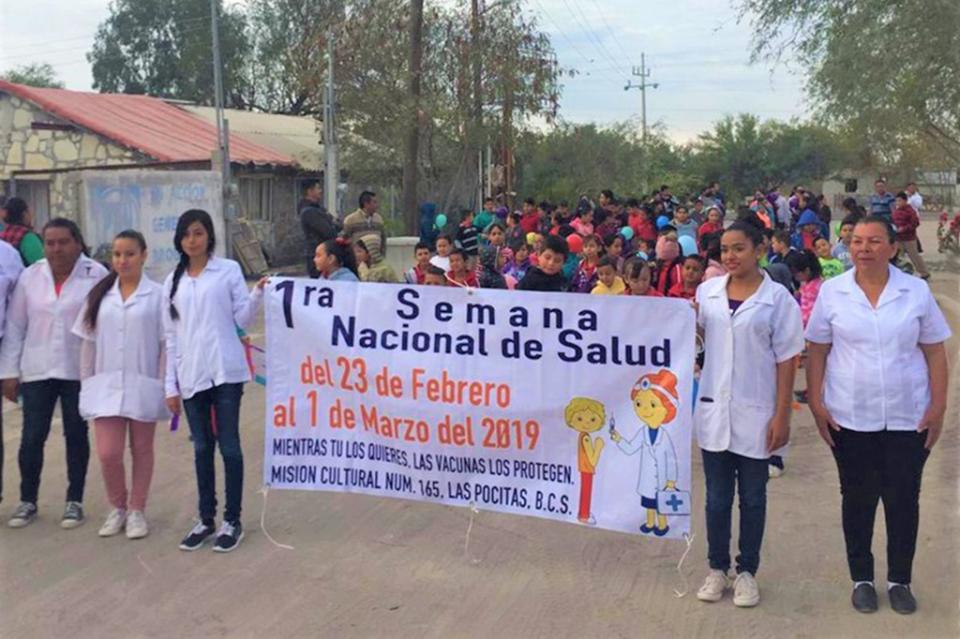 Promueven la Semana de Salud en comunidades rurales de La Paz