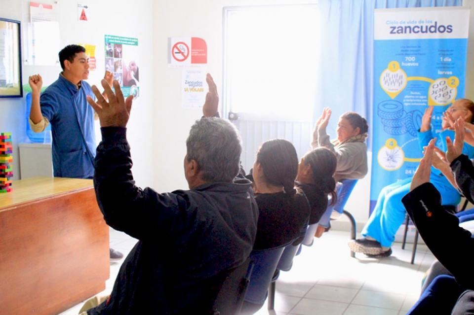 Realizan actividades de prevención de la salud del hombre en colonias de La Paz