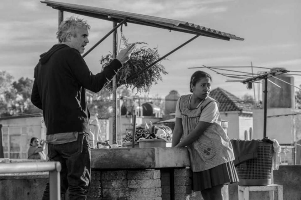 """Alfonso Cuarón se lleva el Óscar a mejor director por """"Roma"""""""