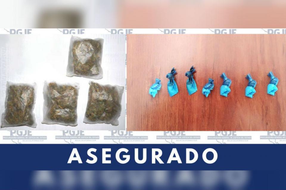 Es detenido con 425 dosis de cristal y marihuana en Lomas del Sol