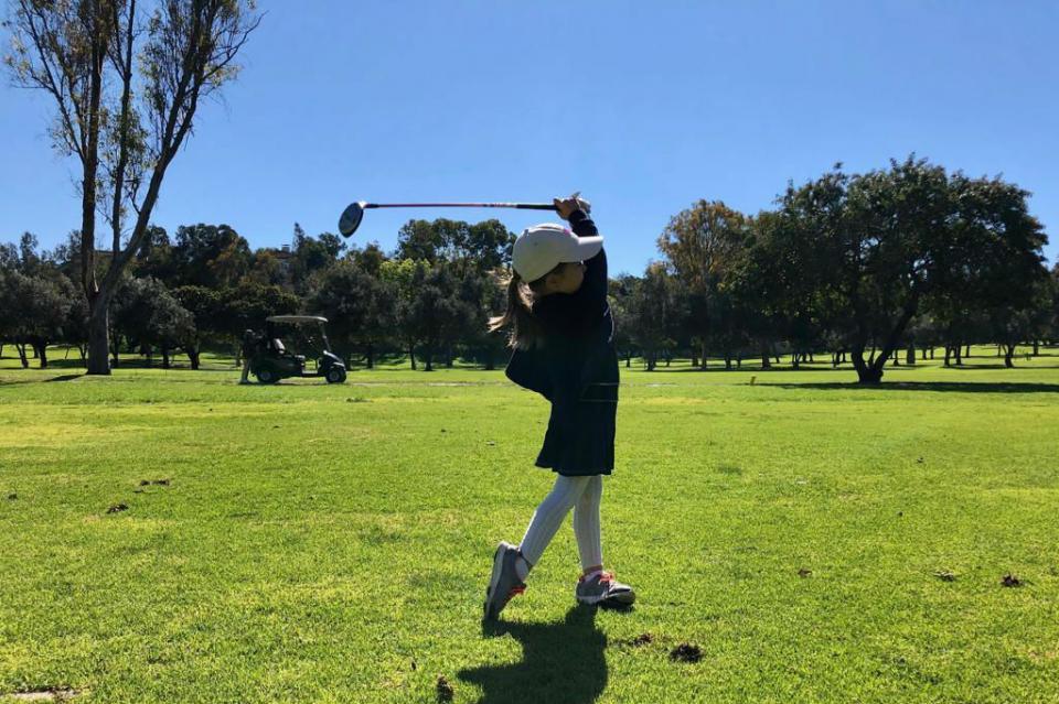 Destacan golfistas a nivel regional