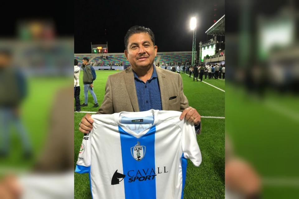 Merece La Paz un equipo de futbol: José Vázquez
