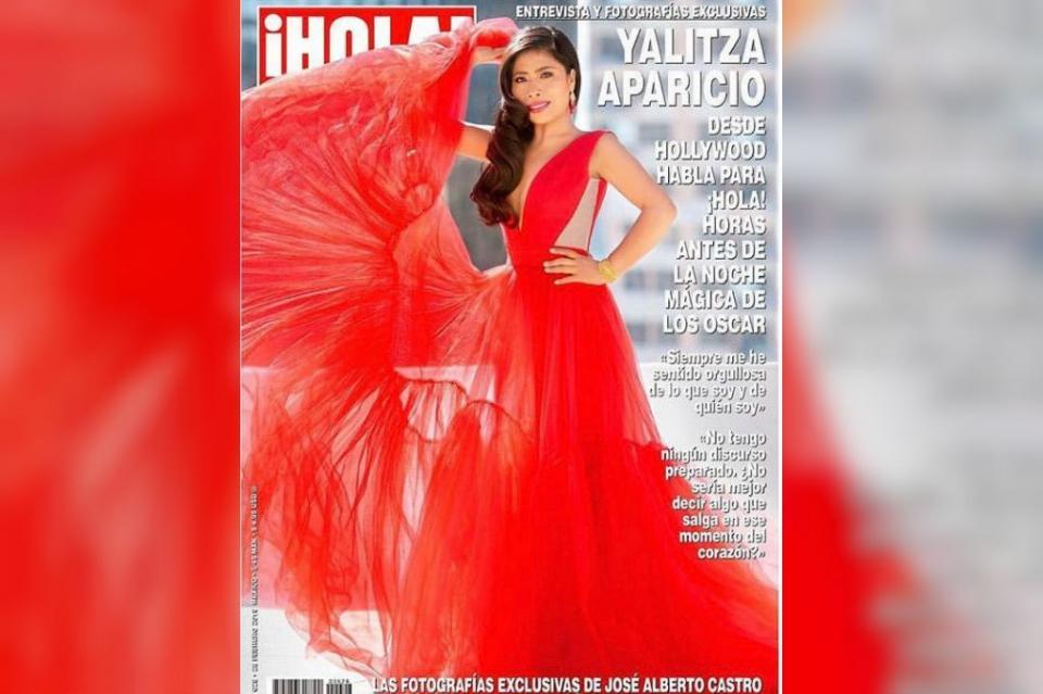 Yalitza Aparicio engalana portada de revista ¡Hola! México