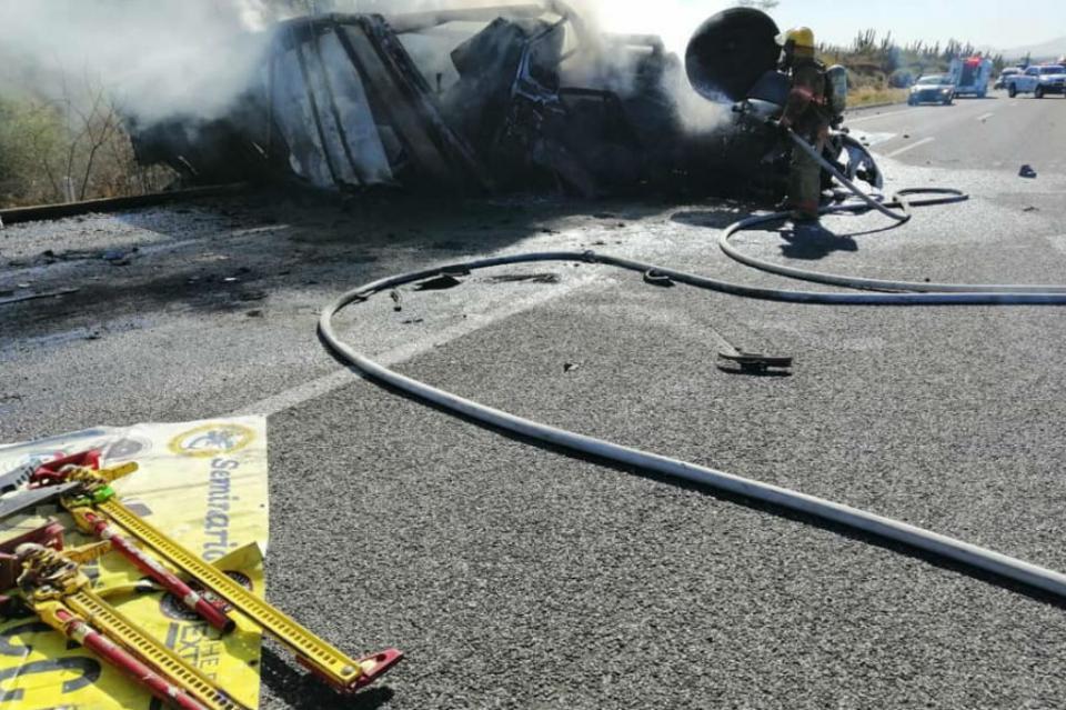 Aumenta a  7 número de muertos en accidente carretero CSL