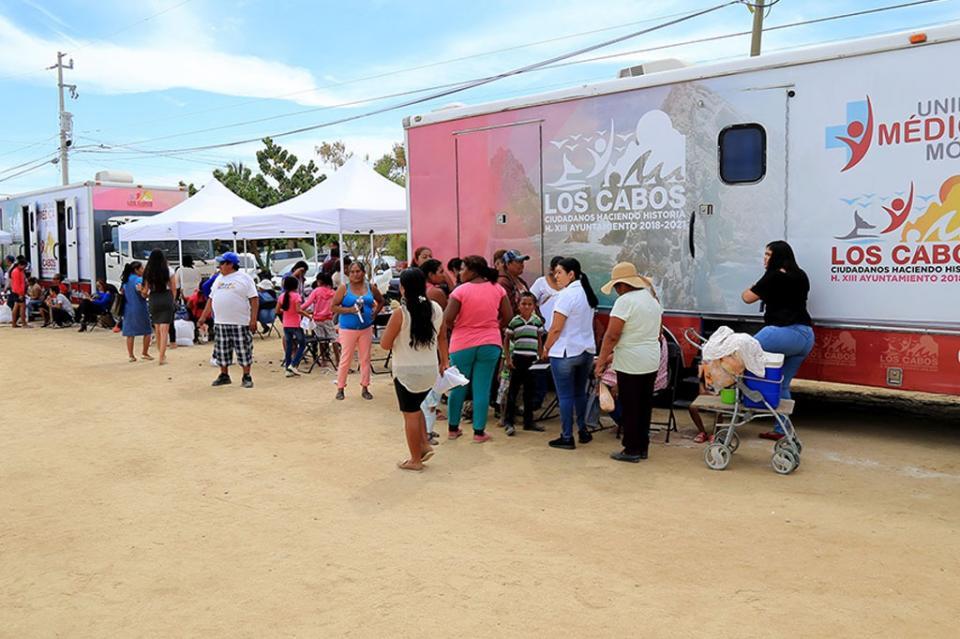 Realizan más de 160 atenciones médicas gratuitas durante el inicio de la Caravana de Salud Municipal
