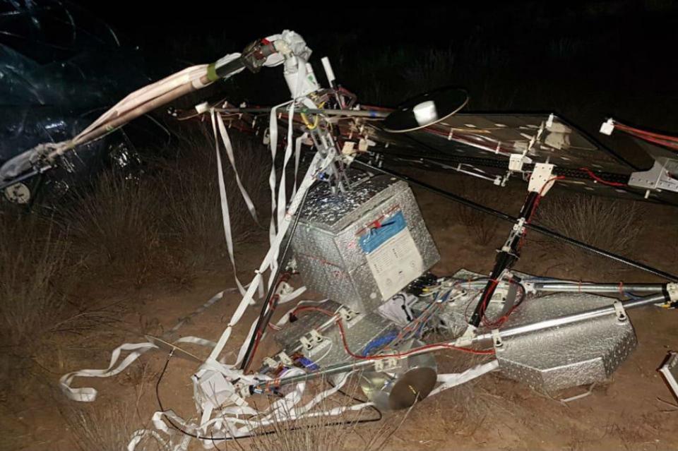 Cae artefacto espacial en poblado de Comondú