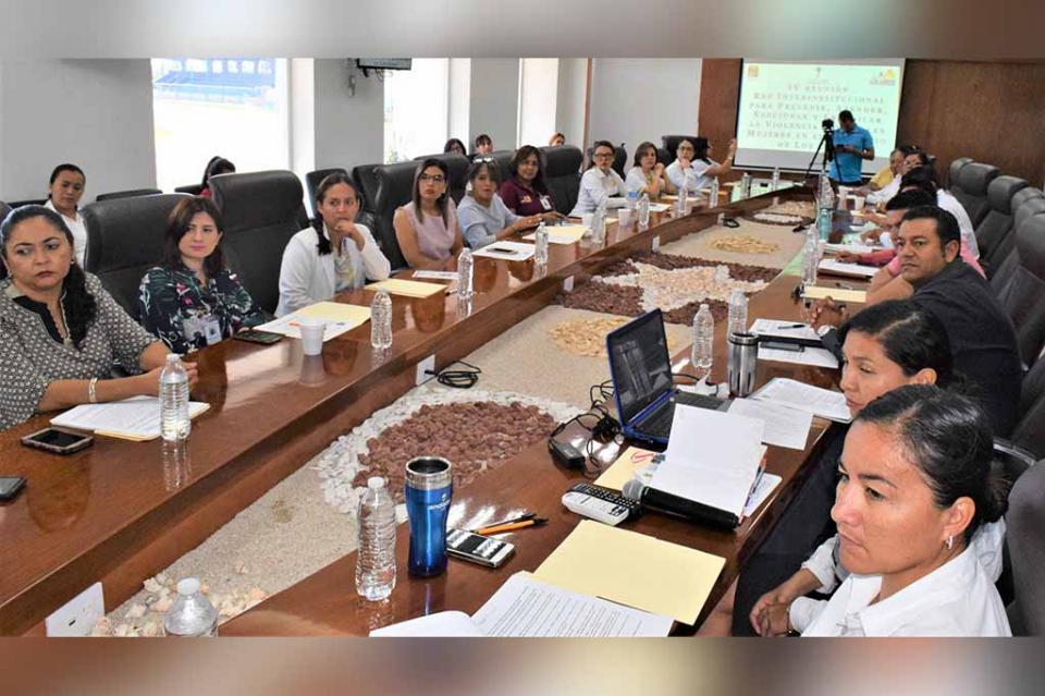 Refuerzan vínculos los tres niveles de Gobierno para atención de mujeres en situación de violencia