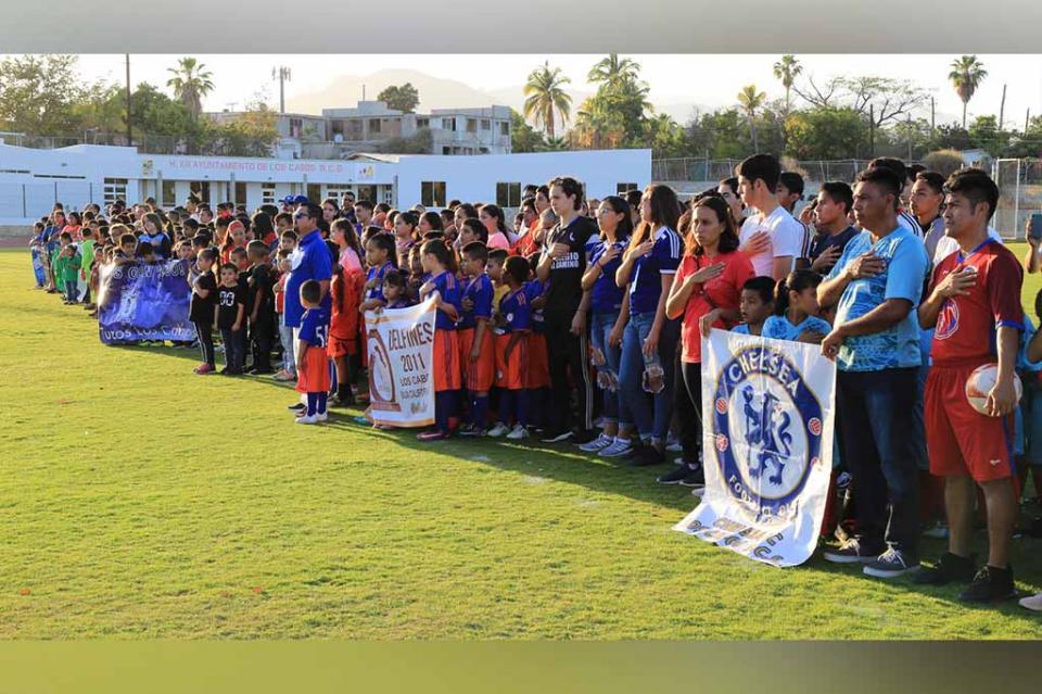 Más de 2500 deportistas participan en el 1er. Torneo de Fútbol de Los Cabos