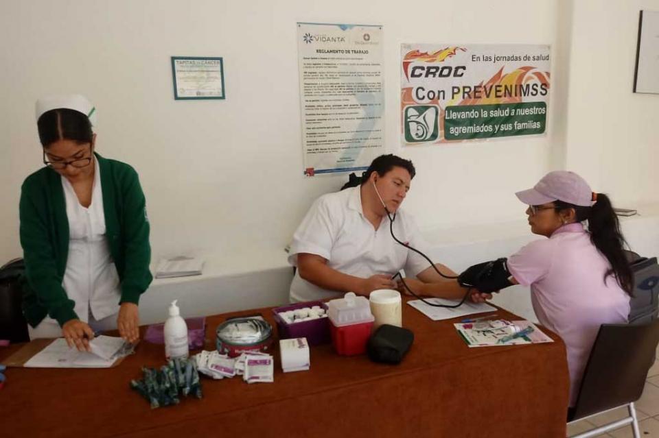 Con el apoyo del IMSS, la CROC fortalece programa de prevención de la salud entre sus trabajadores