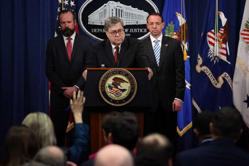 Informe Mueller: Trump sin culpa, pese a 10 rutas de posible obstrucción