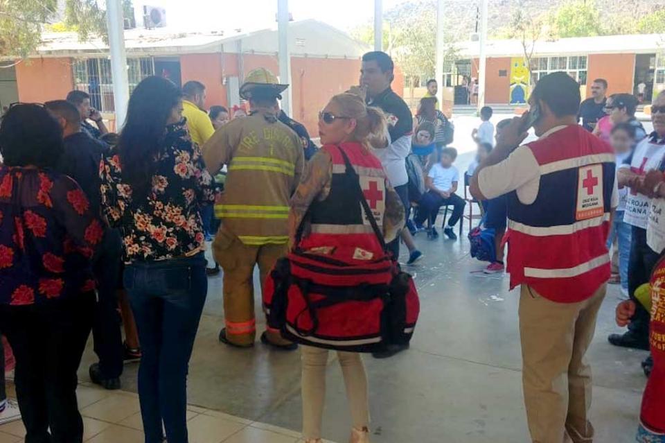 Fuga de gas afecta a niños de una primaria en La Paz
