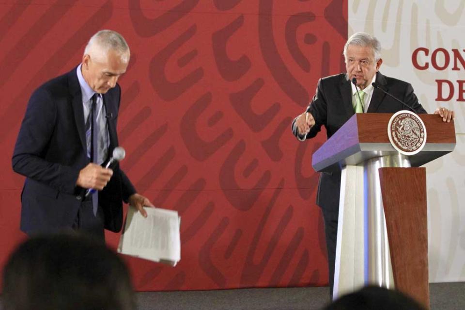 Se revirtió tendencia de homicidios en el país, asegura López Obrador al ser cuestionado por periodista Jorge Ramos