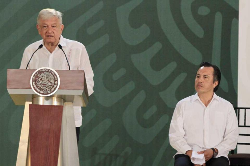 López Obrador se compromete a recobrar paz y tranquilidad en Veracruz
