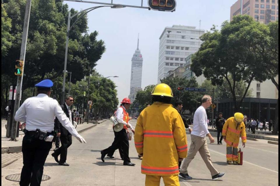 Alarma sismo magnitud 5.7 a habitantes de la Ciudad de México