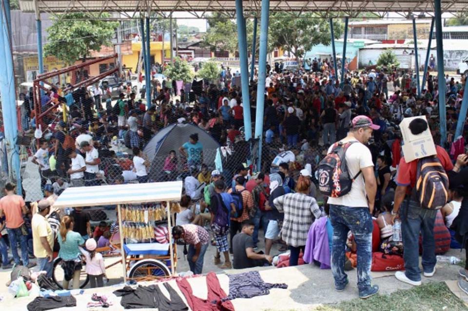 Rebasada capacidad de albergue para migrantes en Reynosa
