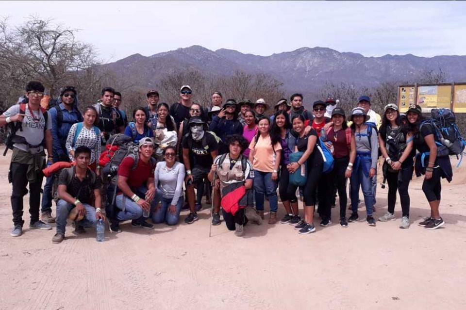 Estudiantes de UABCS Los Cabos, realizan práctica en la Sierra de La Laguna
