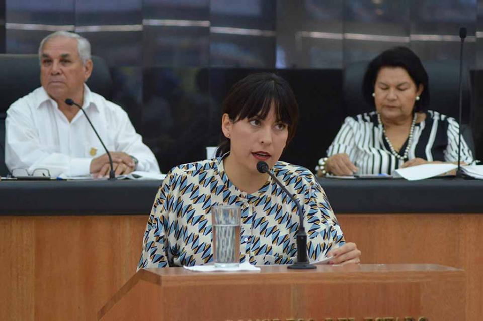 Diputada Milena Quiroga presenta iniciativa para reducir edad para ser Auditor Especial