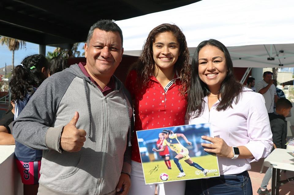 INDEM y futbolista profesional Daniela Espinosa apoyan una noble causa