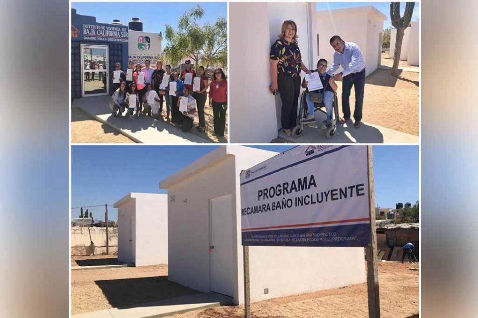 Entrega gobierno del estado beneficios de programas de Vivienda a familias de Los Cabos