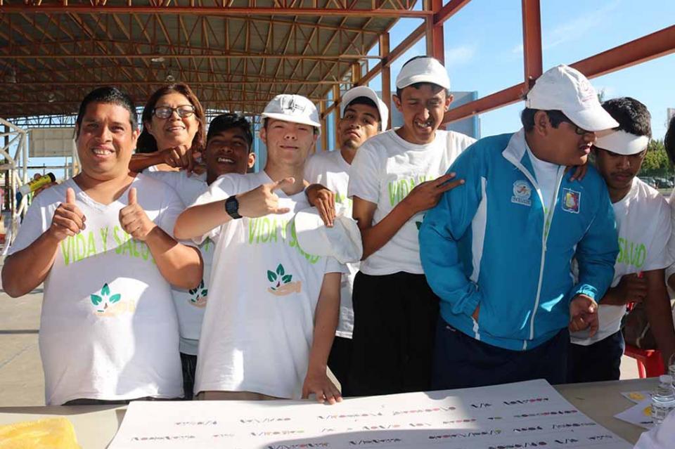 Participa CAM laboral en rally sobre el cuidado del medio ambiente