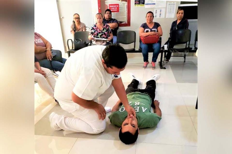 Capacitan a personal hospitalario sobre plan de contingencia