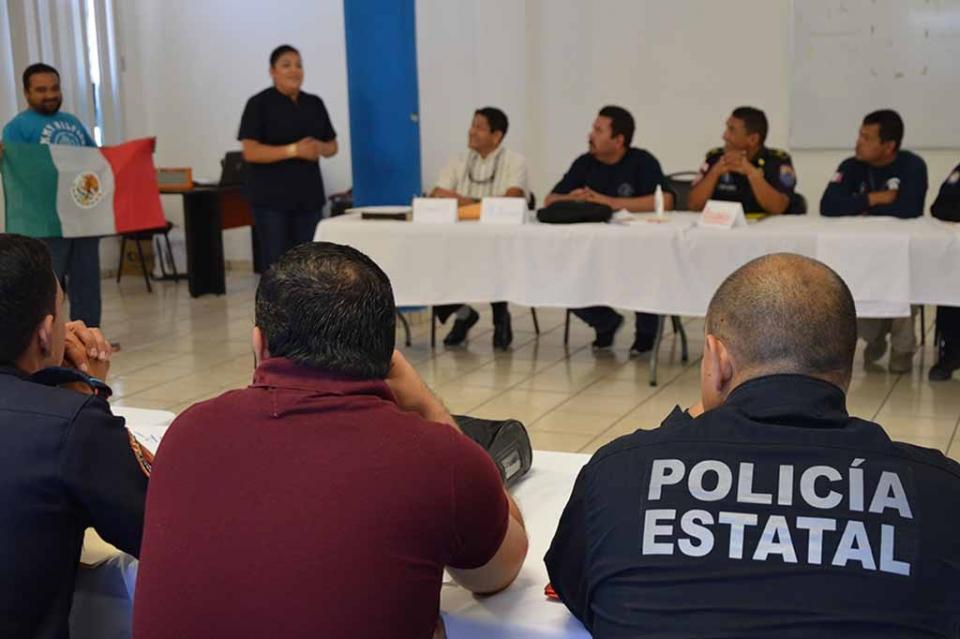 Policías estatales buscan certificarse en atención prehospitalaria