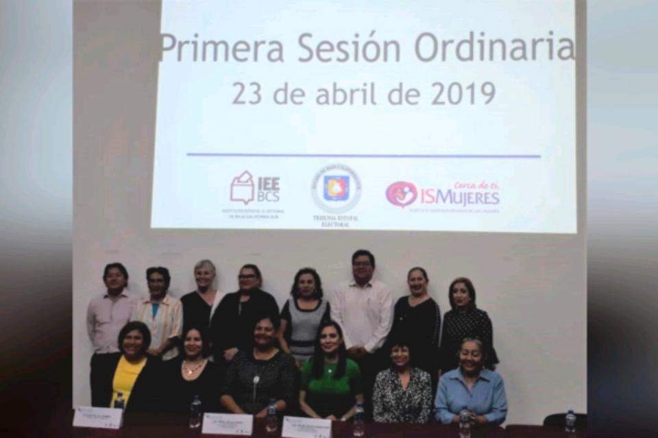 1ra Sesión Ordinaria del Observatorio de Participación Política de las Mujeres