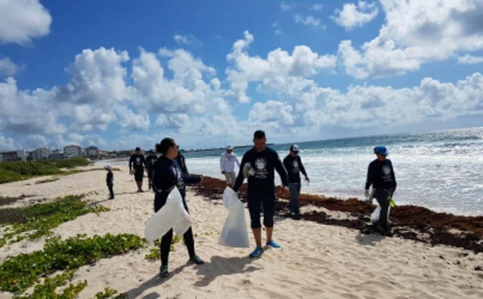 Recolecta Salud más de 21 mil kilos de basura en playas veracruzanas