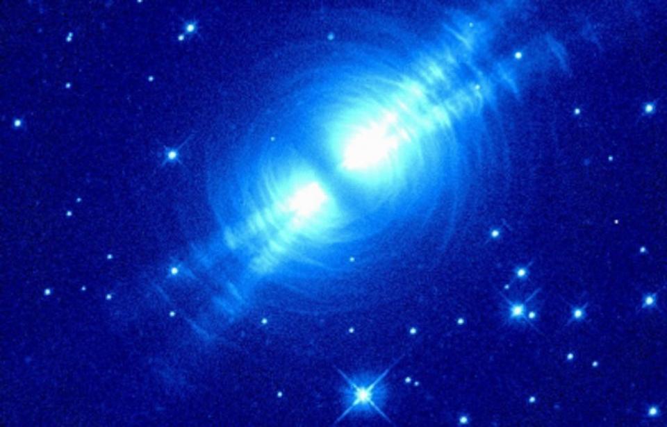 Muestran imagen de la Nebulosa del Huevo