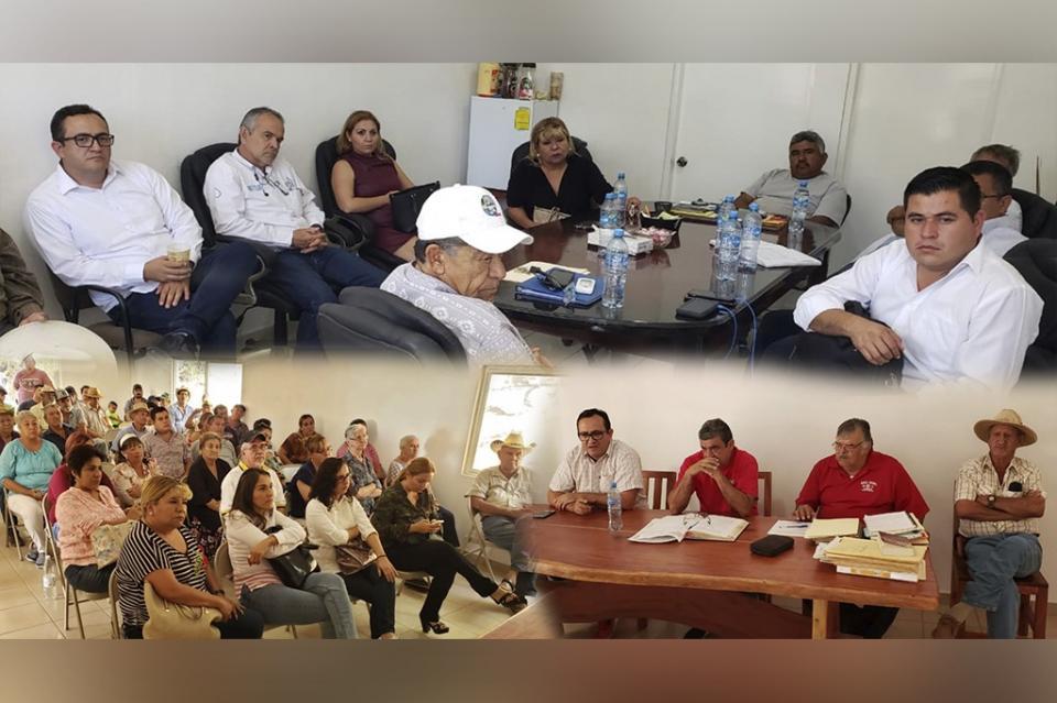 Trabaja OOMSAPAS Los Cabos con Ejido La Ribera y Boca de La Sierra en temas del vital líquido
