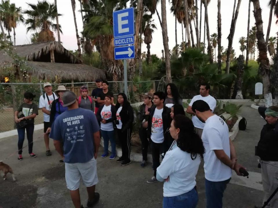 Dirección General de Ecología y Medio Ambiente realizó conteo de aves en la reserva del Estero Josefino