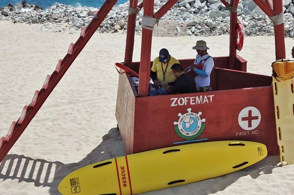 Se capacitan guardavidas de Los Cabos durante el XXV Seminario de Rescate Acuático
