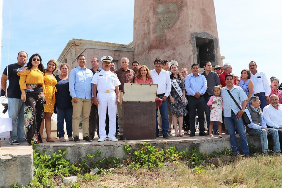 Se conmemora el 114 aniversario del Faro Viejo de Cabo Falso en Cabo San Lucas