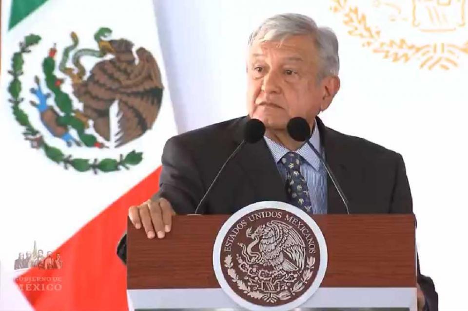 López Obrador toma protesta a jóvenes del Servicio Militar Nacional