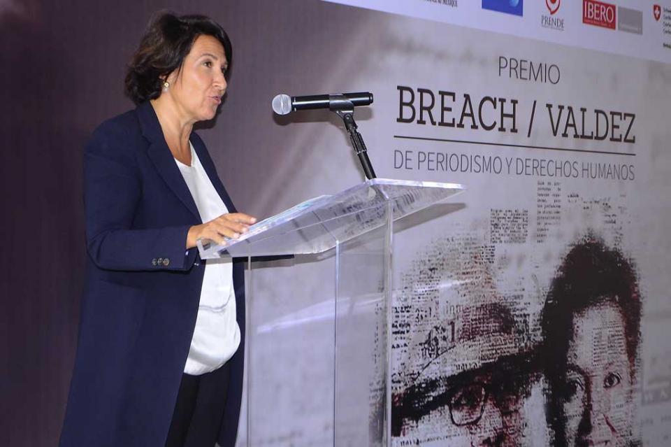 Periodistas recuerdan a colegas Miroslava Breach y Javier Valdez