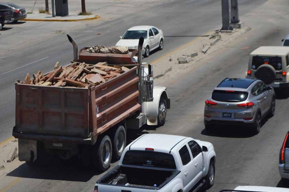Basta de negligencia de camiones materialistas: COR