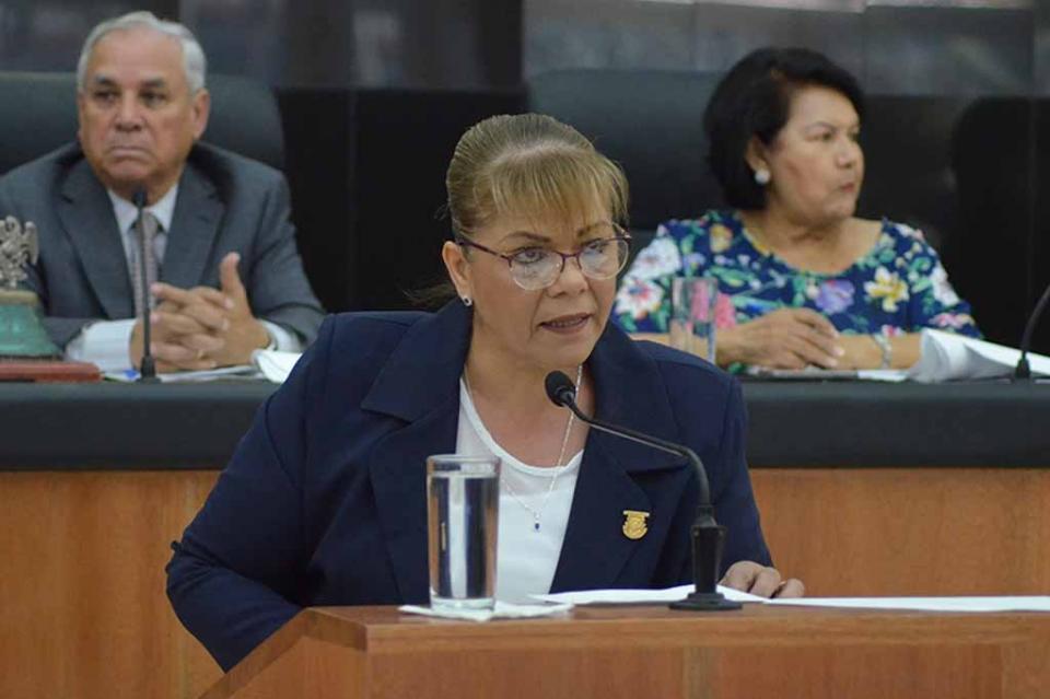Diputada Elizabeth Rocha Torres solicita que se dictaminen iniciativas que ha presentado en la actual XV Legislatura