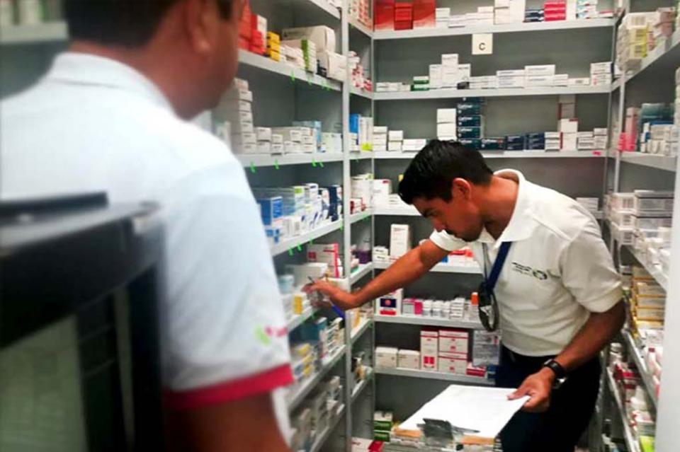 Se inició operativo para asegurar y retirar medicamento Aclimafel