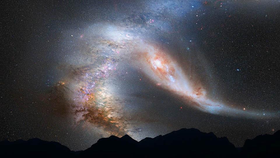 Elaboran la imagen más completa y panorámica de la Vía Láctea