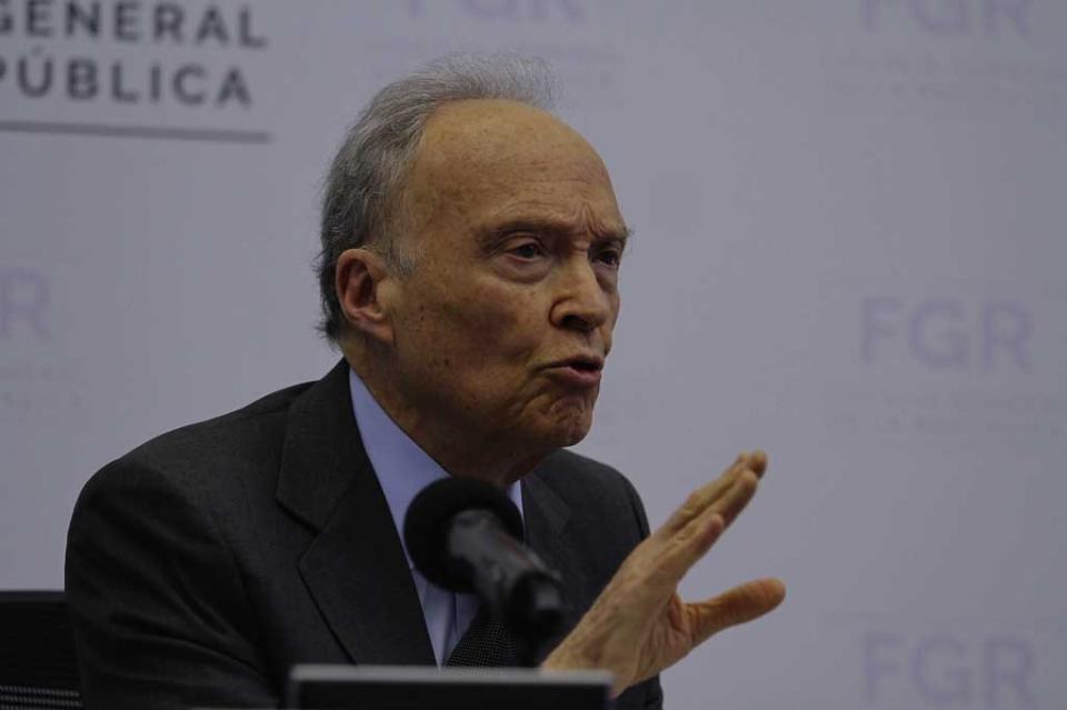 La investigación contra Emilio Lozoya no es por Odebrecht: Gertz Manero