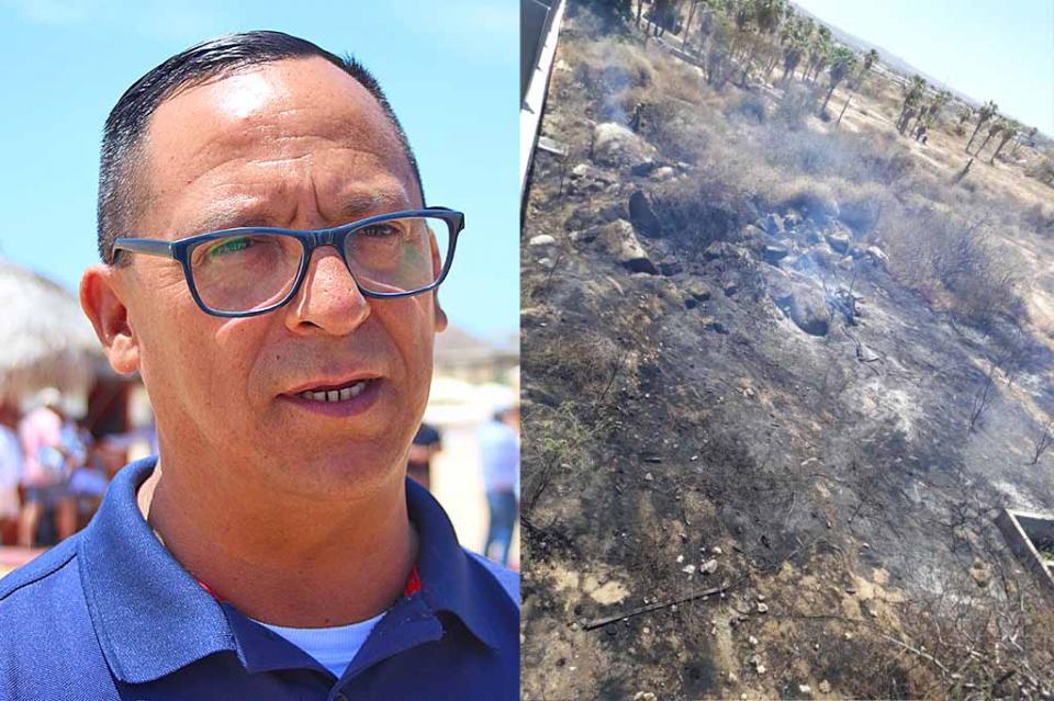 Llama Protección Civil a la ciudadanía no hacer quema de basura ni de pastizales