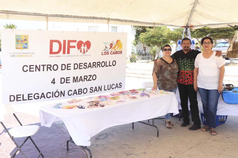 Invita DIF Cabo San Lucas a exposición y venta de manualidades